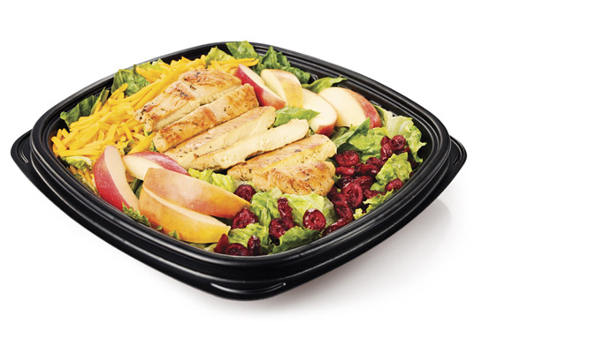 Apple & Cranberry Chicken Salad