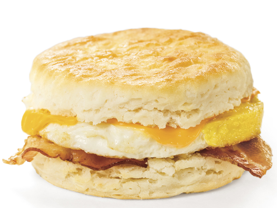 Biscuit Sandwich with Bacon