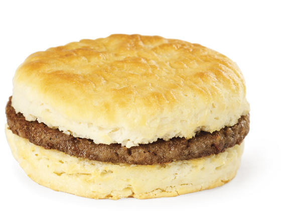 Biscuit with Sausage
