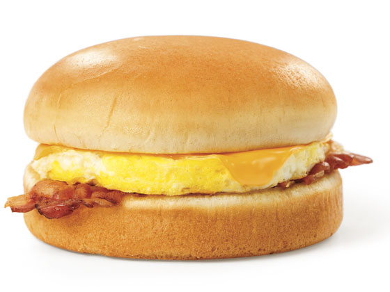 Breakfast On A Bun® with Bacon