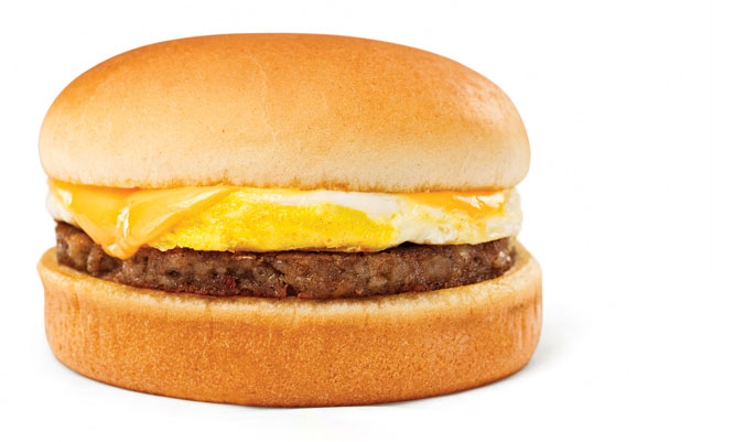 Breakfast On A Bun® with Sausage