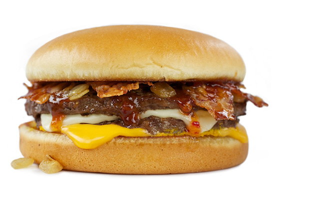 Sweet & Spicy Bacon Burger