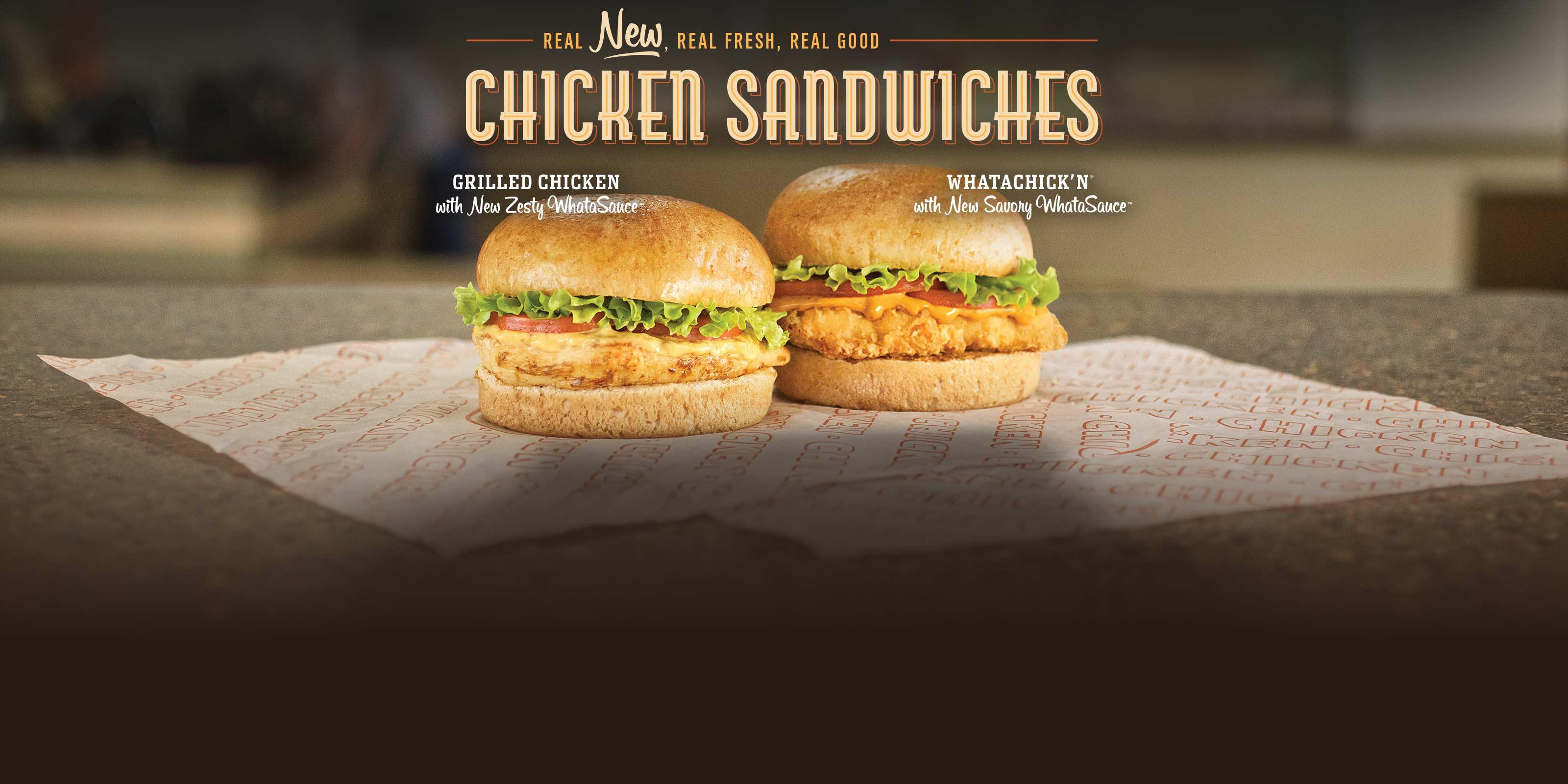 New Chicken Sandwiches