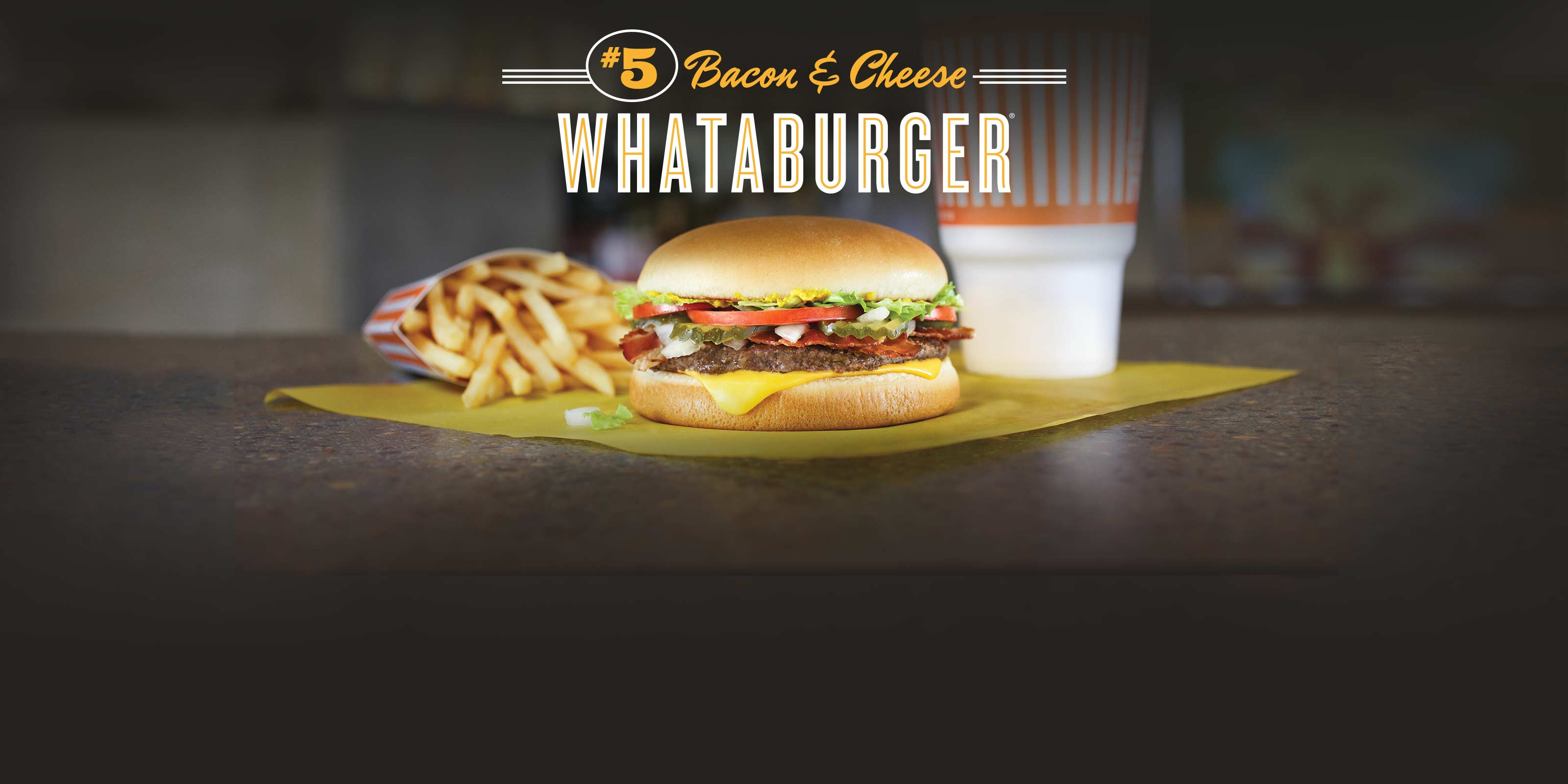 Bacon & Cheese Whataburger