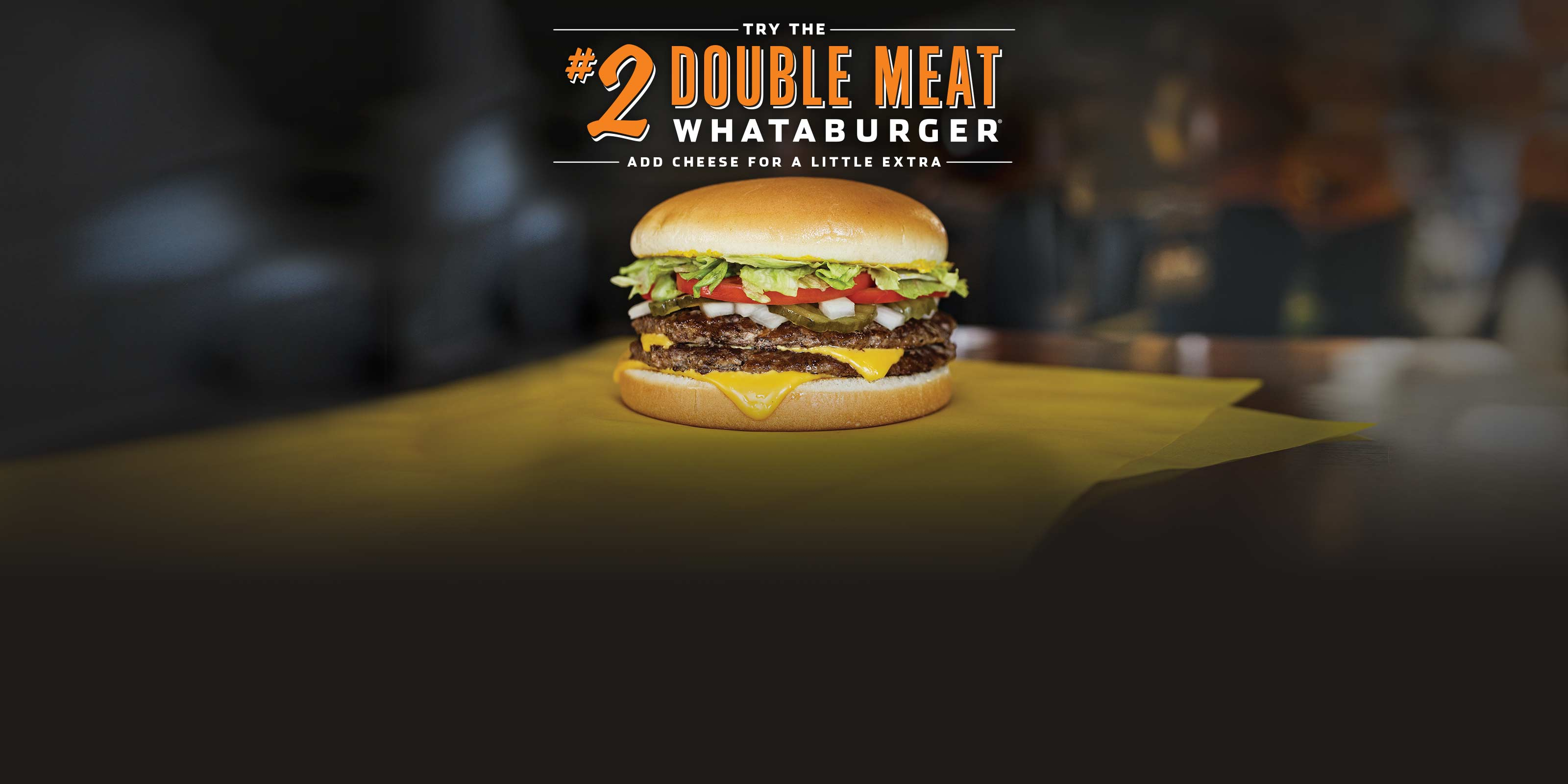 #2 Double Meat Whataburger