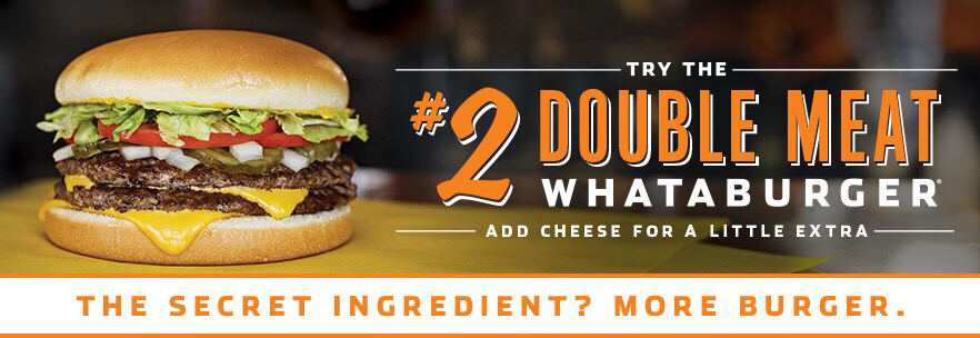 Double Meat Whataburger